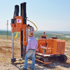 DTH Rock Drilling Rig