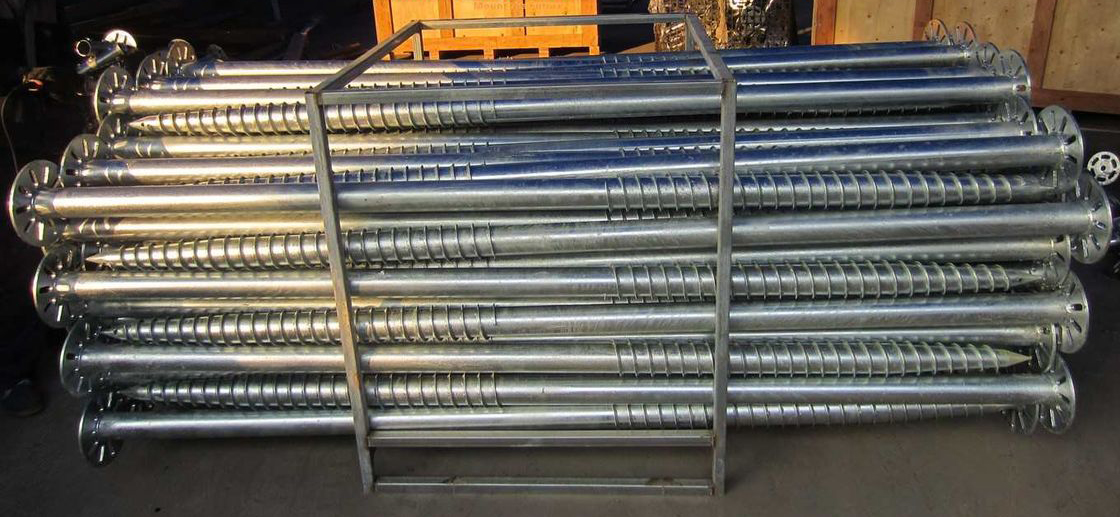 Manufacturing Solar Panel Pile Screw